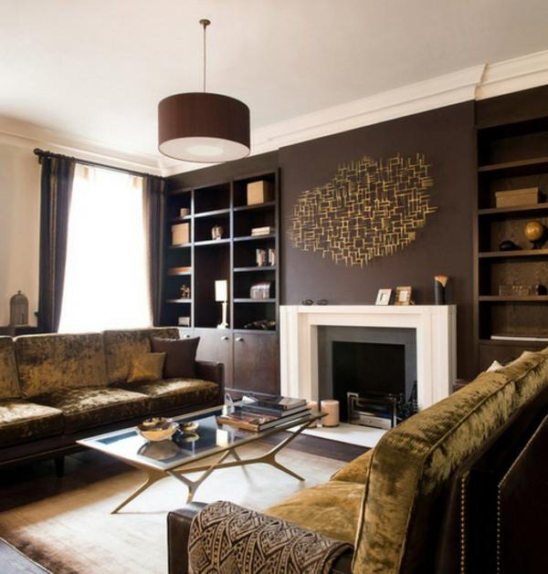 Wandfarben Brauntöne - Erdige, Natürliche Gemütlichkeit Zu Hause Schlafzimmer Einrichten Brauntne