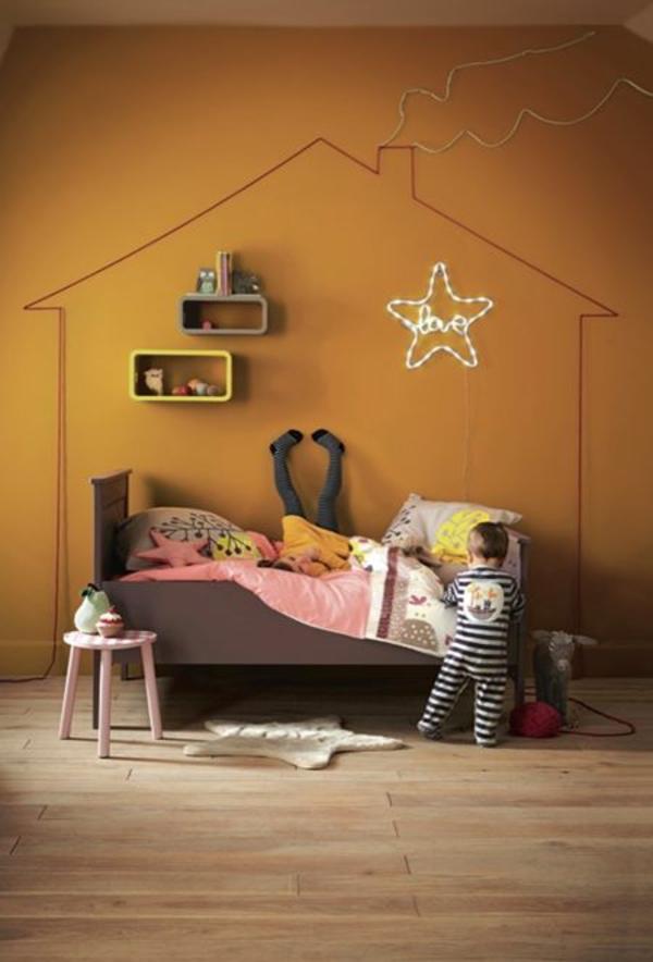 Schlafzimmer Beige Weis Grau ~ Kreative Deko-ideen Und ... Flur Wandgestaltung Hardrock