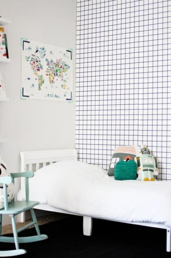 kinderzimmer tapeten farbige ideen f r ihr interieur. Black Bedroom Furniture Sets. Home Design Ideas