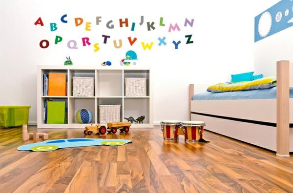 wandgestaltung kinderzimmer wandtattoos alphabet kunterbubnt wandsticker selbstklebend