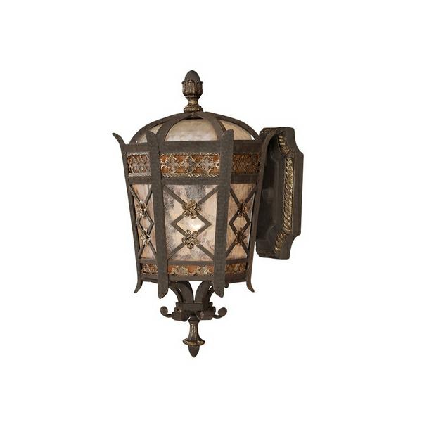 wandleuchten antik aussenlampen idee