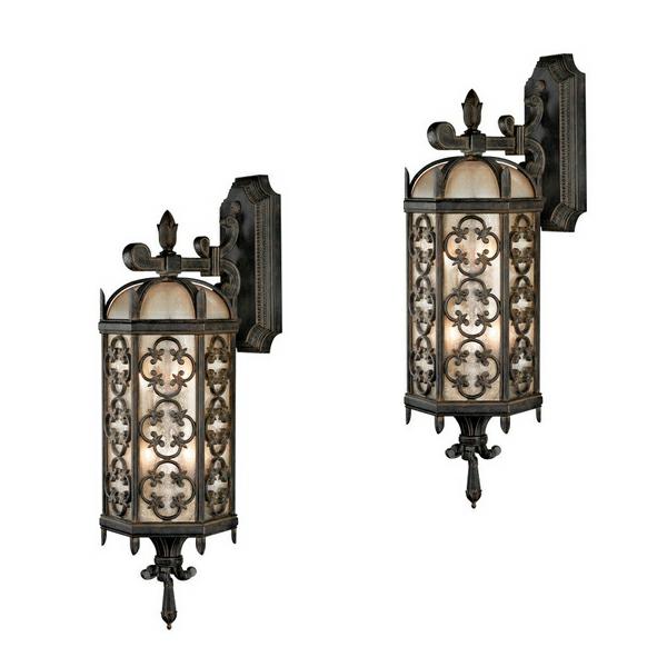 wandleuchten lampen antik aussenlampen traditionell