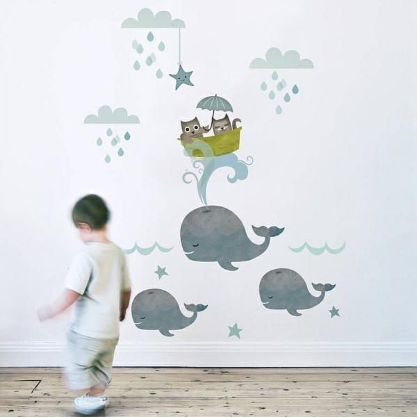 Kinderzimmer wandtattoos ideen und tolle beispiele - Wandtatoos kinderzimmer ...