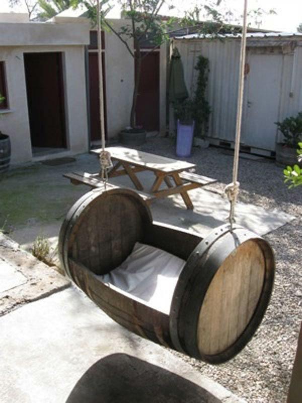 Kettler Gartenmobel Edelstahl : Weinfass Stehtisch und viele andere DIY Möbel aus Holzfass gebastelt