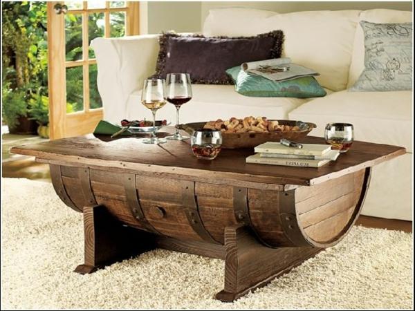 weinfass stehtisch und viele andere diy möbel aus holzfass gebastelt - Mbel Aus Holz Selber Bauen
