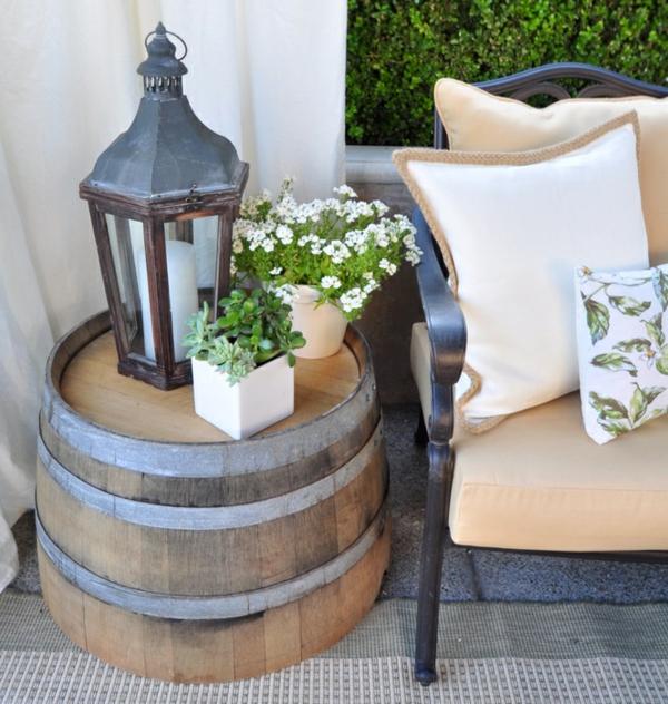 Weinfass stehtisch und viele andere diy m bel aus holzfass for Wine country decorating ideas