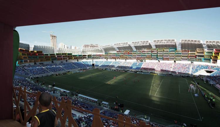 weltmeisterschaft brasilien 2014 moderne architektur casa futebol fußballstadion