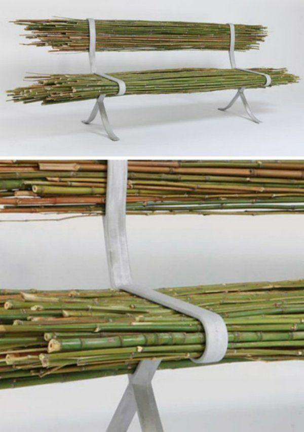 bambus möbel deko bambusholz sitzbank