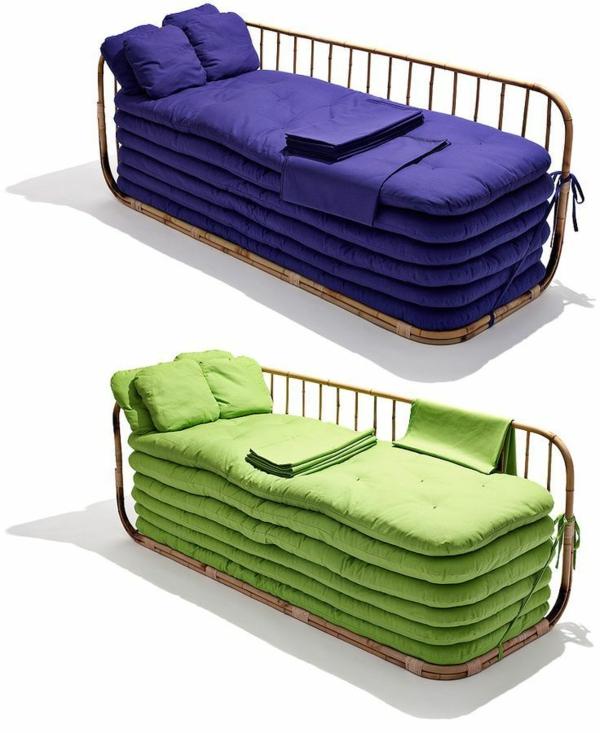 bambus möbel deko bett