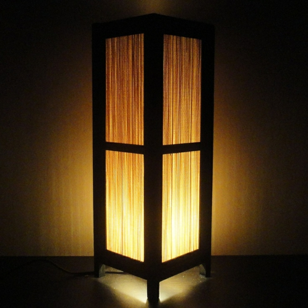 bambus möbel deko lampe