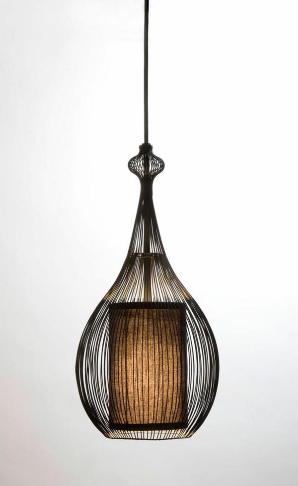 bambus möbel deko pendelleuchte