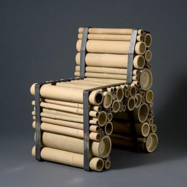 bambus deko möbel  toller stuhl