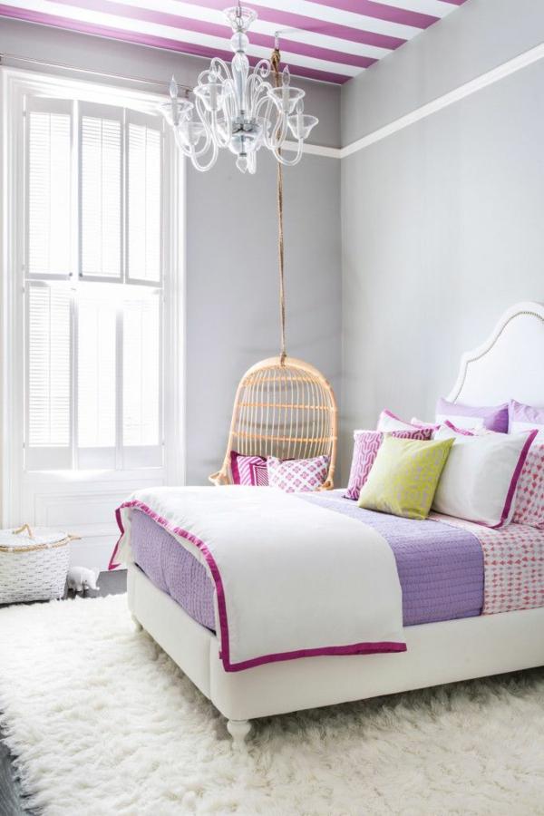 Farbideen Schlafzimmer - einflußreiche Farben und Dekoration