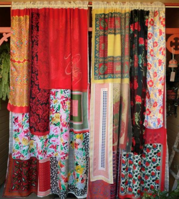 wohnideen gardinen dekorationsvorschläge handgemacht