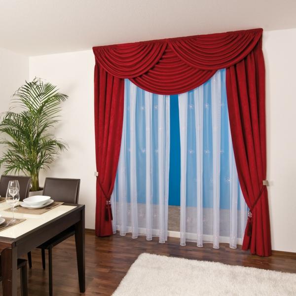 Gardinen Dekorationsvorschläge - Dekoideen für Fenster und Badezimmer