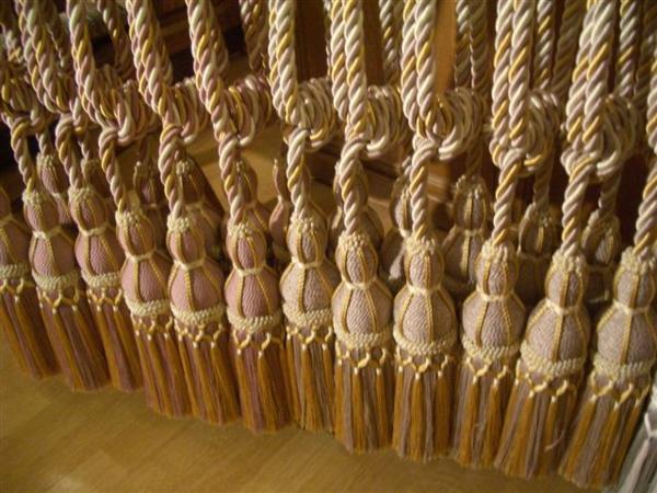 gardinen dekorationsvorschläge vorhänge quasten