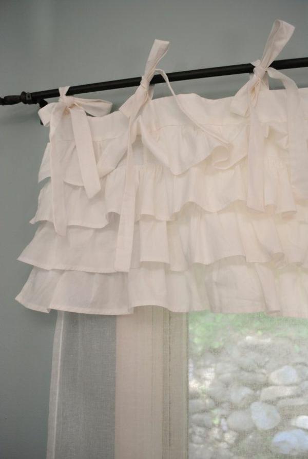 gardinen dekorationsvorschläge weiße gardinen