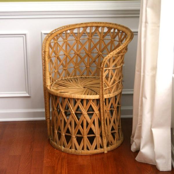 tolle bambus deko möbel designer stuhl