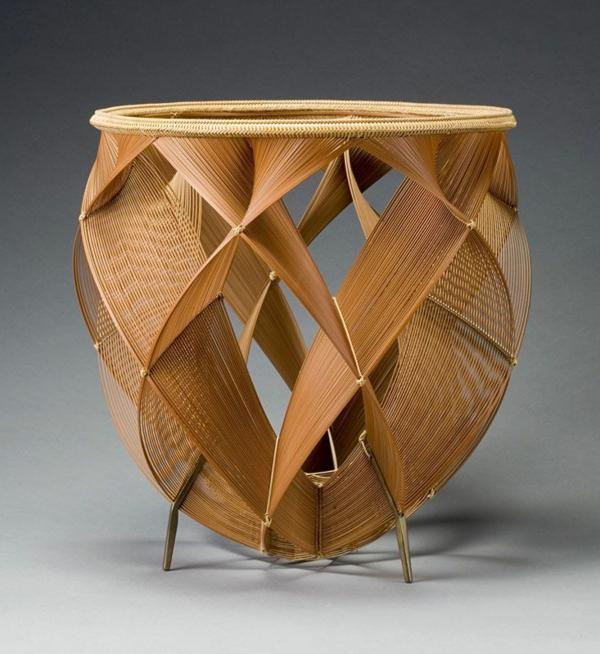 tolle bambus möbel deko korb