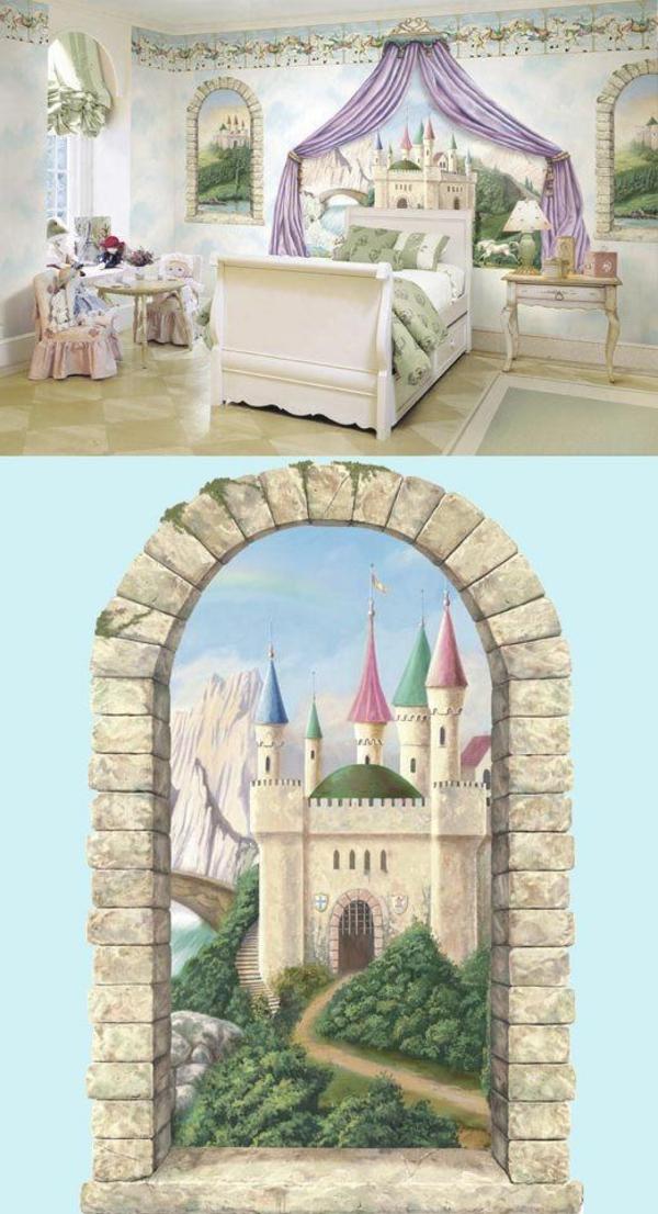 Kinderzimmer Wandbemalung Muster ~ Kreative Deko Ideen Und Innenarchitektur