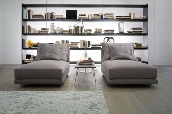 Chaiselongue Sofa - komfortable Lounge Möbel