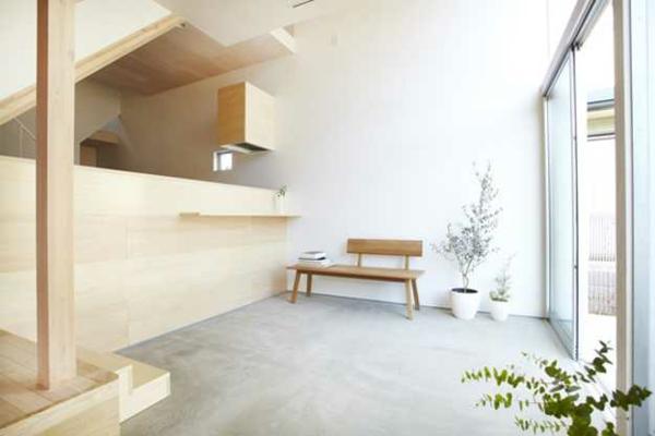 40 Wohnzimmer Minimalistisch Einrichten Gross Fenster Putzen Robust Holz