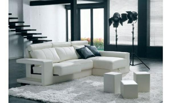 einrichten möbel scheselong sofa leder