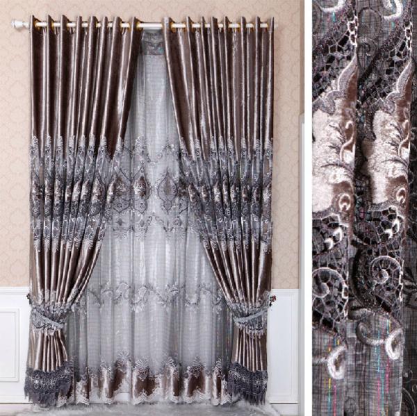 dekorationsvorschläge gardinen  vorhänge chinesisch