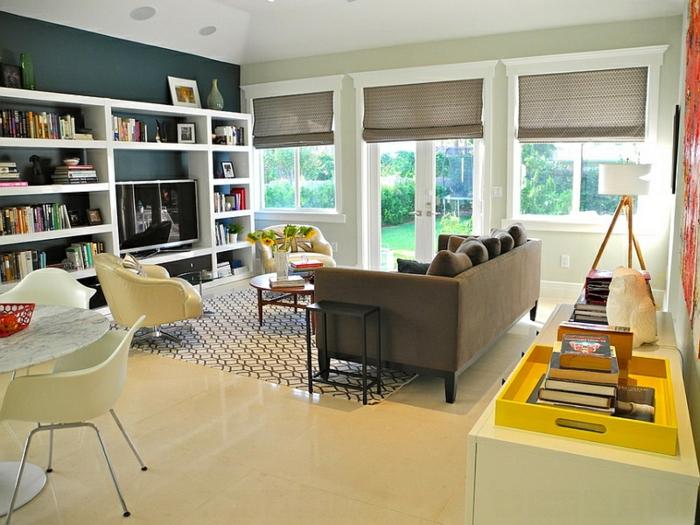 raffrollos - praktischer fenster sichtschutz für ihr zuhause - Raffrollo Für Wohnzimmer