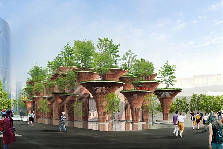 ökologische architektur baustoffe world expo 2015