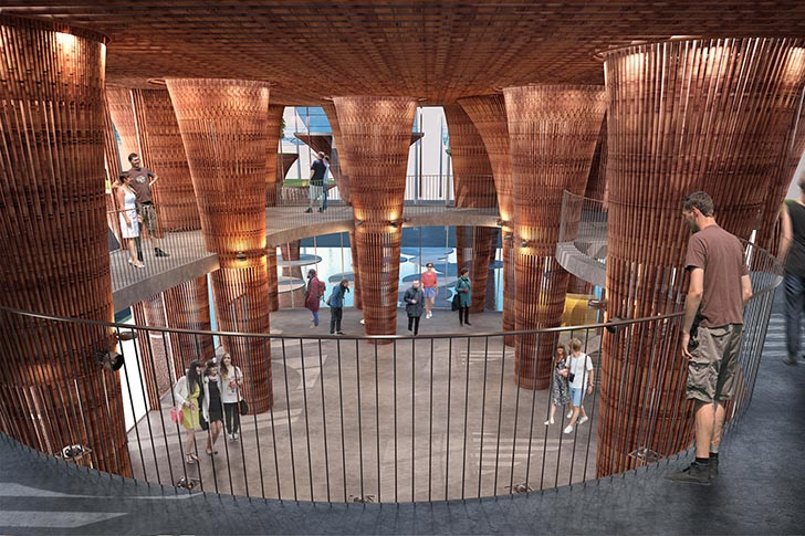 ökologische architektur expo 2015 mailand projekt aus bambus lotus