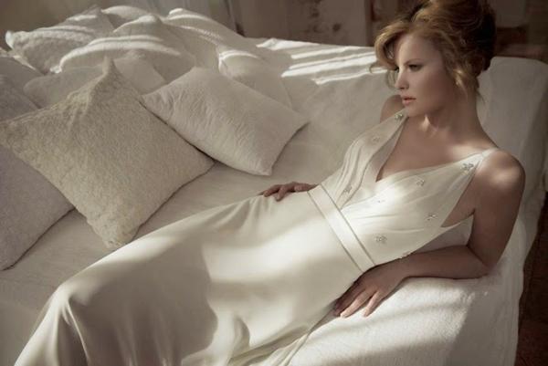 Brautkleider 2014 wunderschön Brautmode hochzeit seide