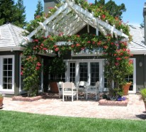 Coole Gartenlauben und Holzpavillons für Terasse, Veranda oder den Garten