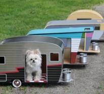 Coole Karawanen für Haustiere – Designer Hundhaus auf Rollen