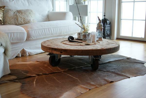 diy holz wohnzimmermöbel aus kabeltrommeln,