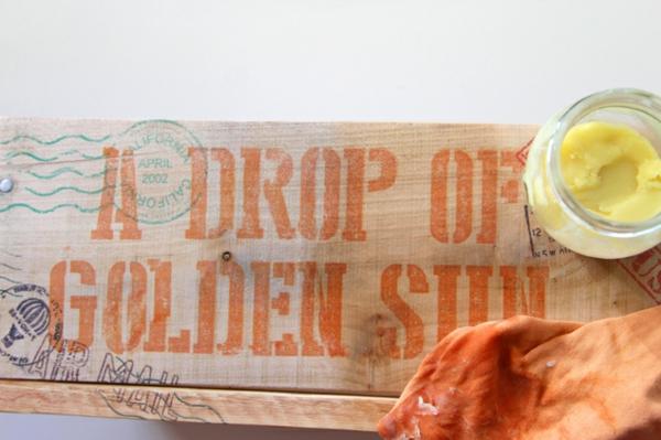 DIY Holzkiste und Aufbewahrungsbox aus Europaletten exotisch
