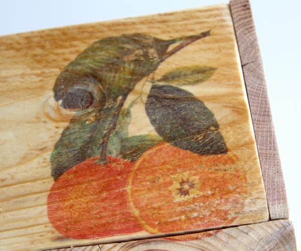 Aufbewahrungsbox DIY Holzkiste Europaletten ländlich