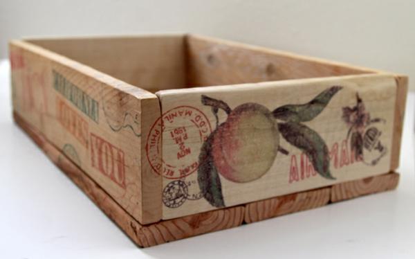 DIY Holzkiste und Aufbewahrungsbox aus Europaletten material