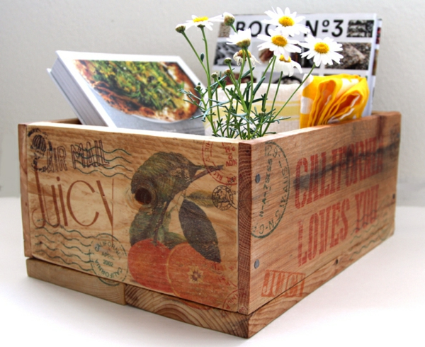 DIY Holzkiste Aufbewahrungsbox aus Europaletten nützlich