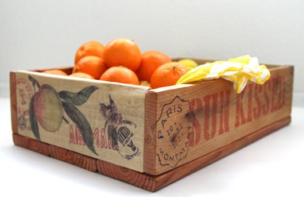 Aufbewahrungsbox briefmarken Europaletten orange