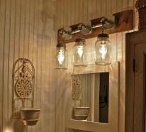 DIY Kronleuchter aus Europaletten erhellen Ihr Zuhause