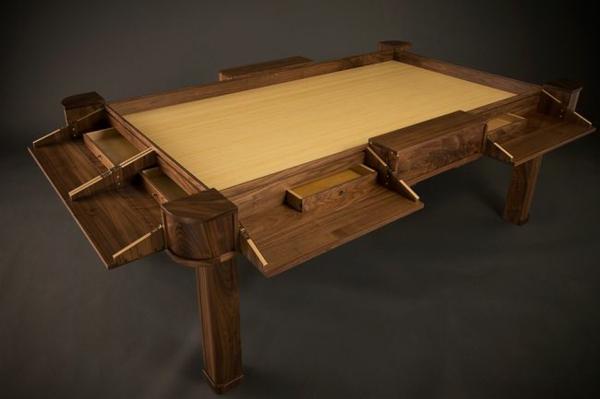 Designer spieltisch kombiniert kundenanpassung und eleganz for Designer tischplatten