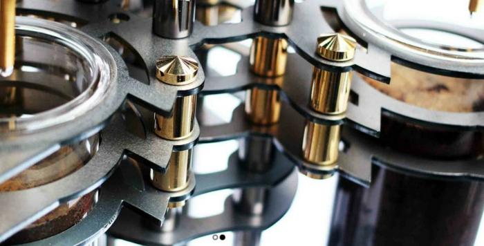 Dutch Lab designer kaffeemaschine gotische kathedrale bestandteile