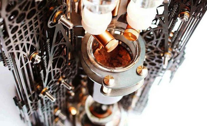 Dutch Lab designer kaffeemaschine gotische kathedrale kaffee kochen