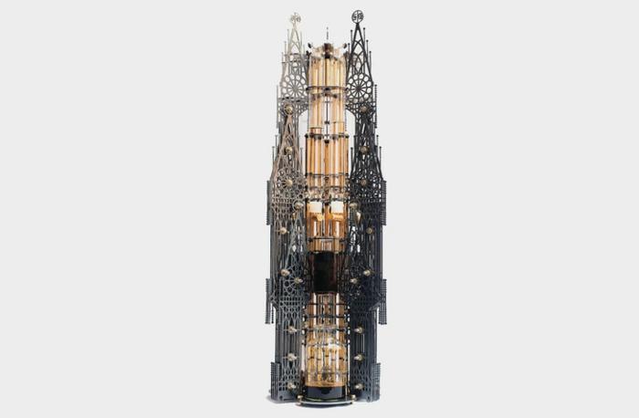Dutch Lab designer kaffeemaschine gotische kathedrale