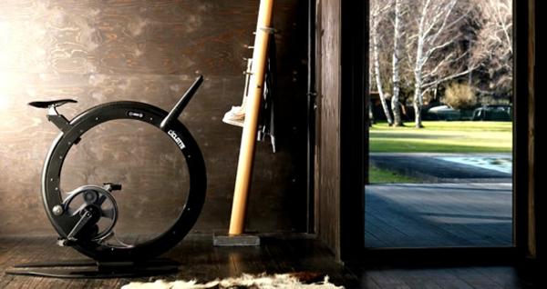 Fitness Fahrrad Heimtrainer umgebung natur design