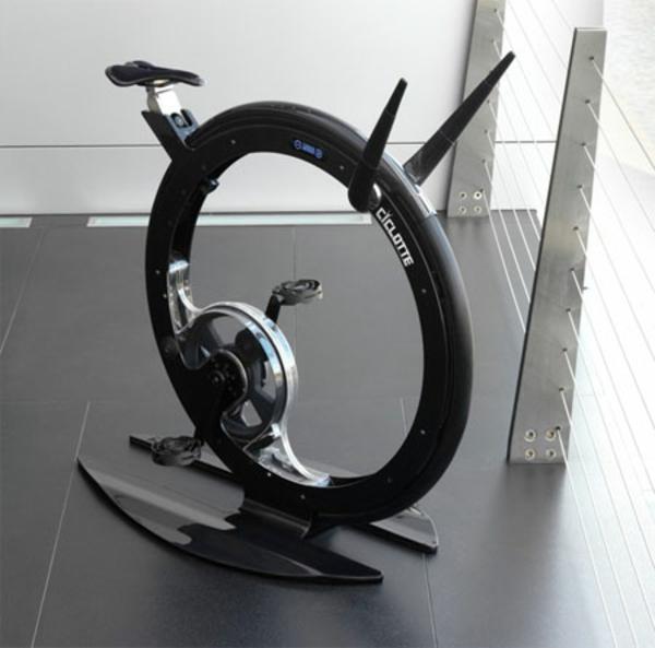 Fitness Fahrrad luxus design Heimtrainer handgriff