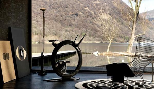 Fitness Fahrrad Heimtrainer ciclotte ziegel