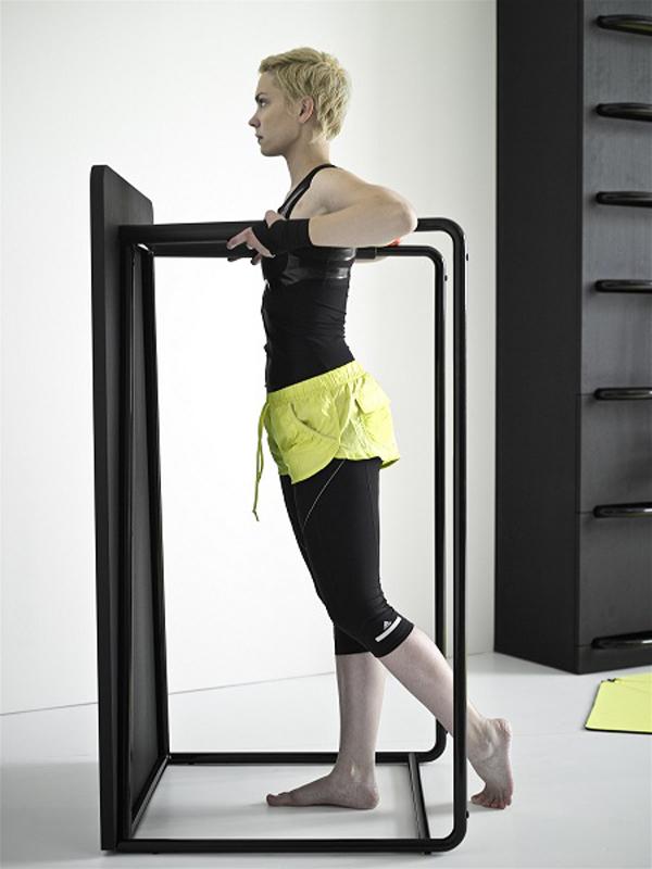 Fitnessraum Sportgeräte zu Hause muskeln