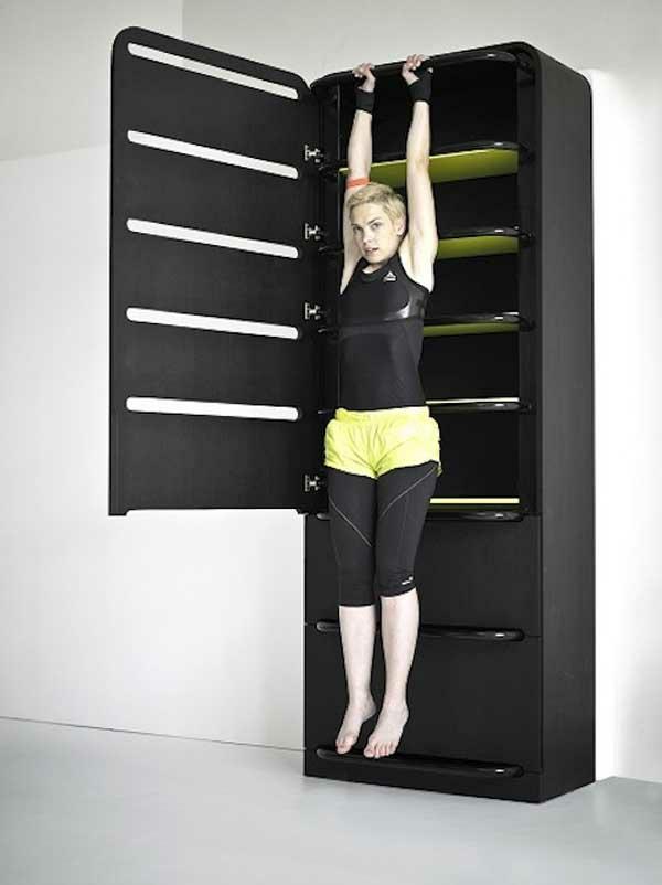 Fitnessraum zu hause gestalten  Fitnessraum und Sportgeräte zu Hause - günstige Einrichtungslösungen